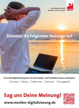 Monitor Digitalisierung